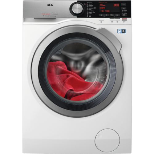 Aeg L7FEC48S elöltöltős mosógép, 8kg, A+++ -30%, ÖkoInverter moter, frissítő gőz