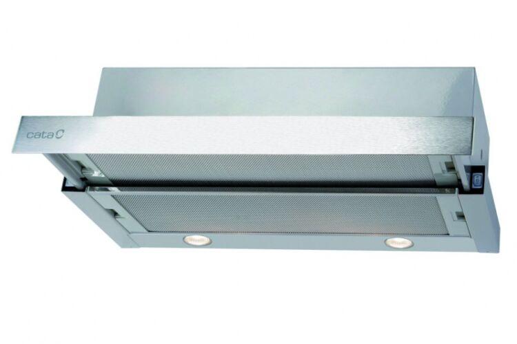 Cata TF-2003/70 LED duralum beépíthető kihúzható páraelszívó, 70cm széles