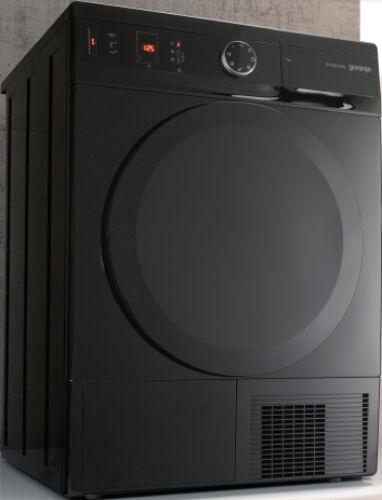 Gorenje D76SY2B Simplicity fekete szárítógép, hőszivattyús, 7kg, A++