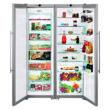 Liebherr SBSesf 7212 Side by Side hűtő fagyasztó, 120cm széles