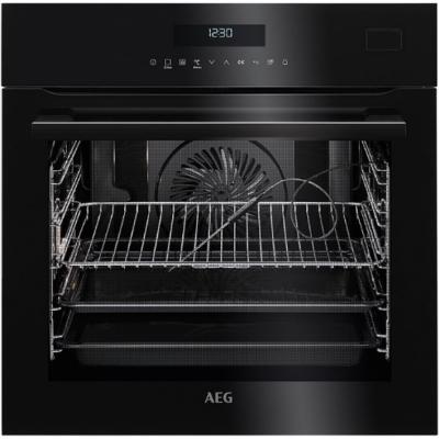 AEG BSE782320B beépíthető fekete színű gőzsütő, SteamBoost
