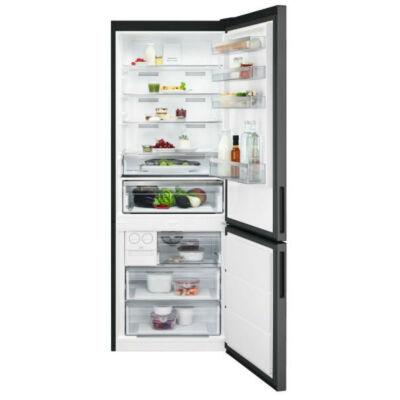 AEG RCB646E3MB Alulfagyasztós hűtőszekrény, NoFrost, 192 cm, A++ (Fekete)