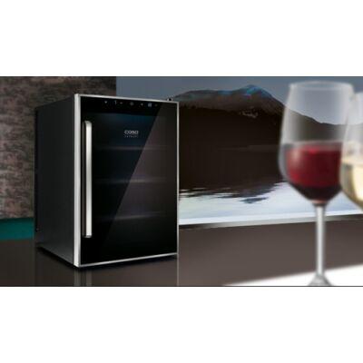 Caso WineSafe 12 palackos borhűtő, 1 zónás, kompresszoros kivitel, A energiaosztály