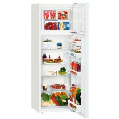 Liebherr CTP231 Szabadonálló kombinált hűtő, SmartFrost, 140cm magas, 233 literes
