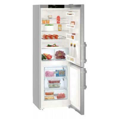 Liebherr CNef 4813 Szabadonálló kombinált hűtő, NoFrost, 201 cm magas, 344 literes