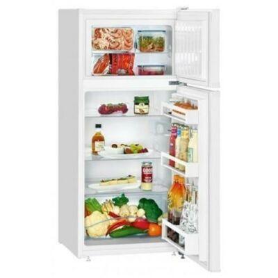 Liebherr CTP211 Szabadonálló kombinált hűtő, SmartFrost, 124cm magas, 196 literes