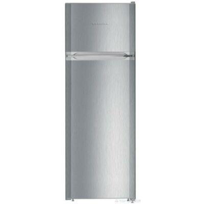 Liebherr CTPel 251 Szabadonálló kombinált hűtő, SmartFrost, 157cm magas, 270 literes