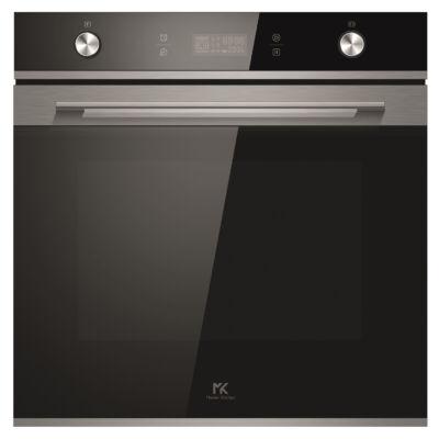 Master Kitchen MKO 1307-ED MMW BK beépíthető, multifunkcionális sütő mikróval