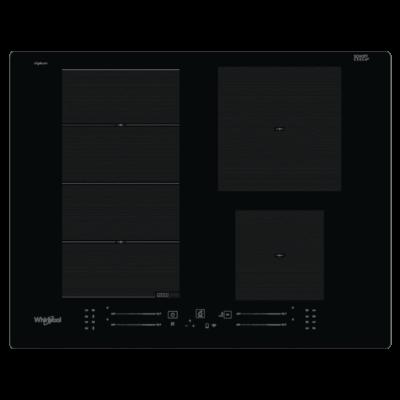 Whirlpool WF S2765 NE/IXL indukciós főzőlap, PremiumSlider vezérlés (okostelefonról is működtethető)