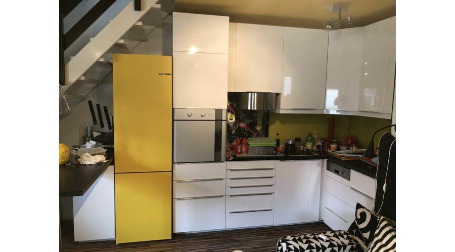 Beépíthető hűtő beszerelése